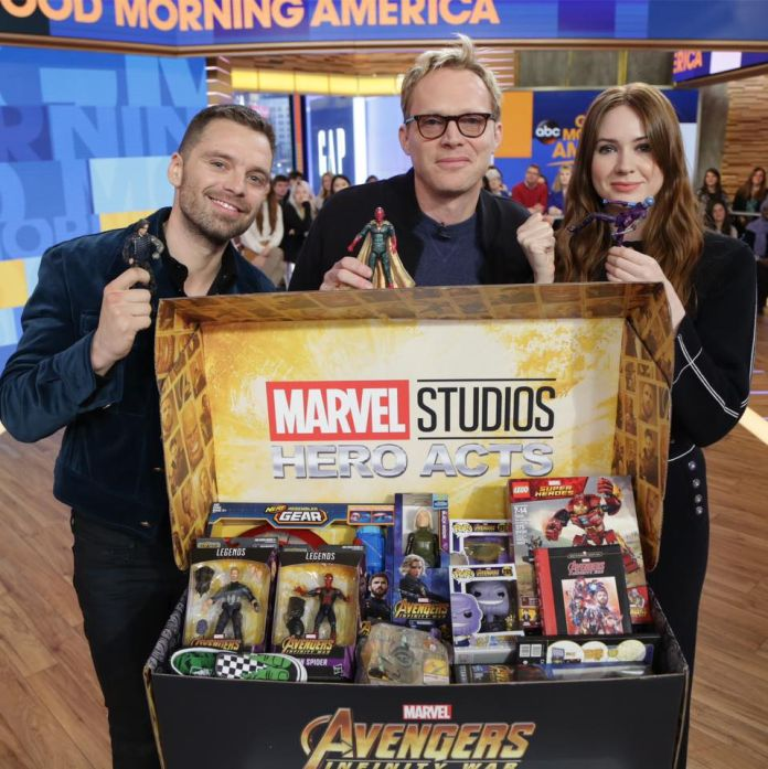Marvel Studios announces the return of Hero Acts charity