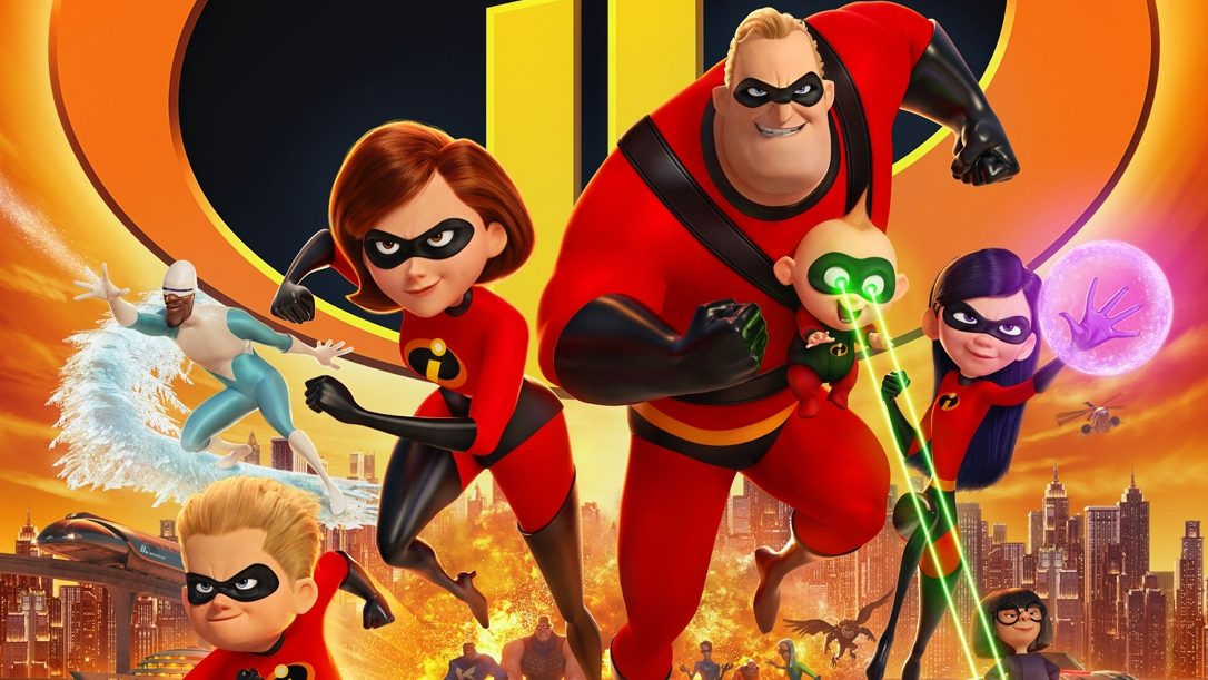 Incredibles 2 All character payoff poster