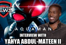 'Aquaman' Interview: Yahya Abdul-Mateen II on Black Manta, Big Helmet Challenges, and Sequel Hopes