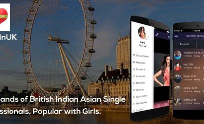 AsiansInUK – #1 Dating & Matrimonial App for Indian Asian Professionals in UK