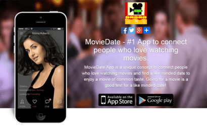 MovieDate – #1 App to connect people who love watching movies