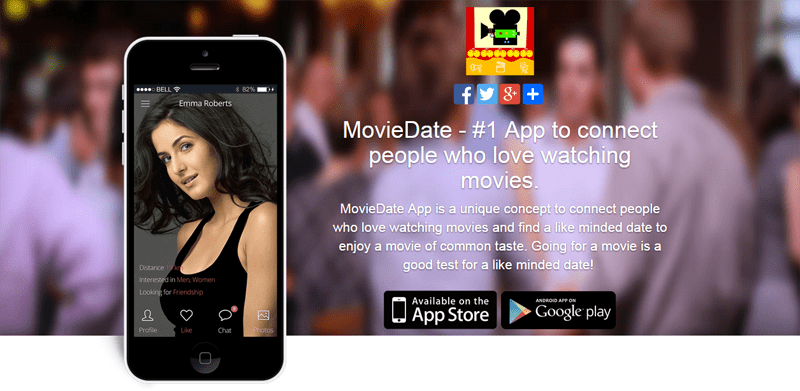 movie lovers matchmaking app