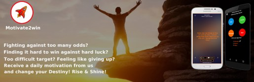 Motivate to win quote app