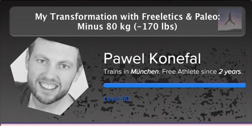 Pawel M. Konefal - Paleo Freeletics Free Athlete (06/2015)