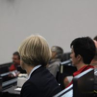 Im Publikum u.a. Dr. Sabine Paul