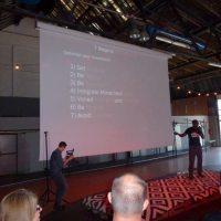 Vortrag auf dem Symposium von Darryl Edwards
