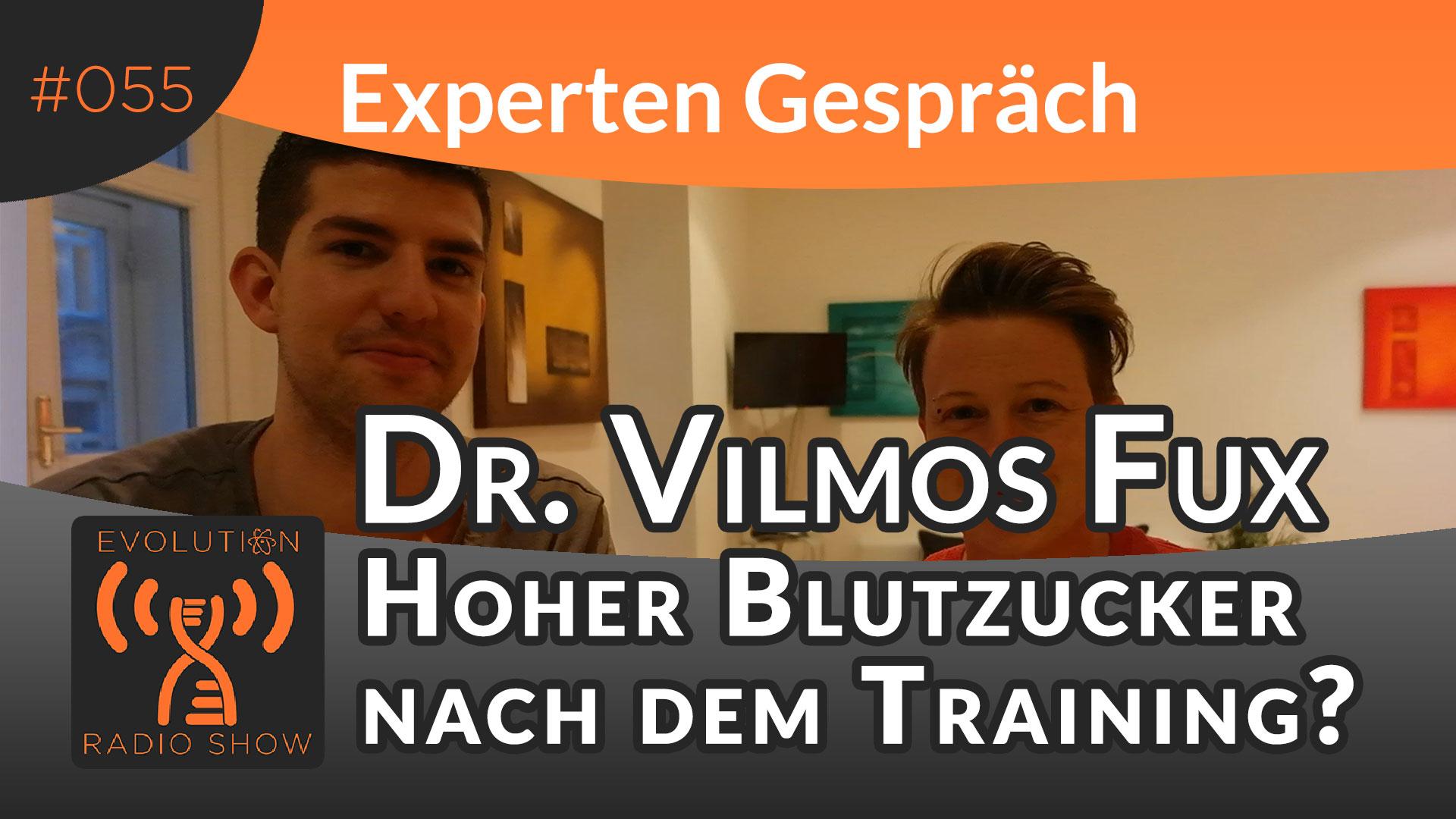 Evolution Radio Show Folge #055: Hoher Blutzucker nach dem Training? - Experte Dr. Vilmos Fux im Interview