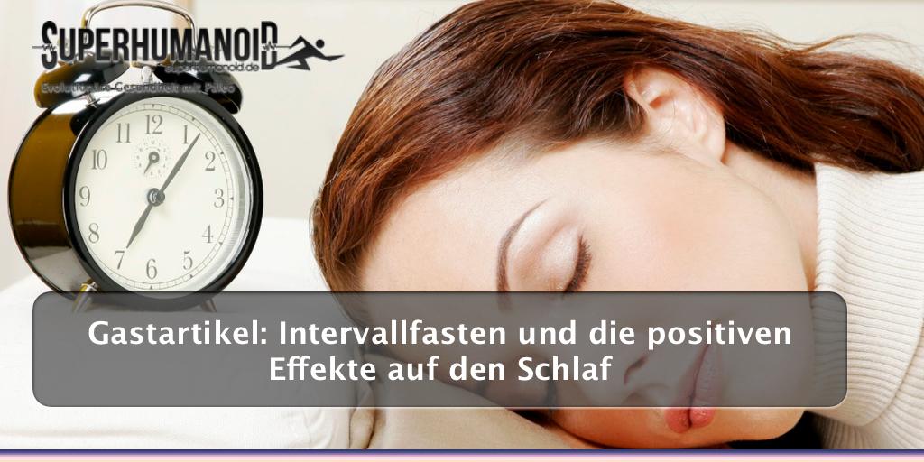 Intervallfasten und die positiven Effekte auf den Schlaf