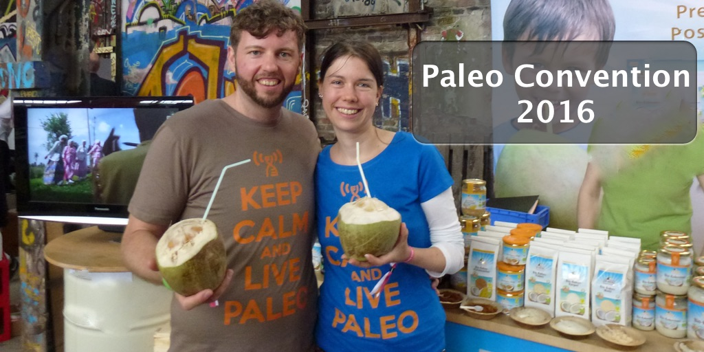 Der Countdown läuft: Paleo Convention 2016 in Berlin (6. und 7. August)