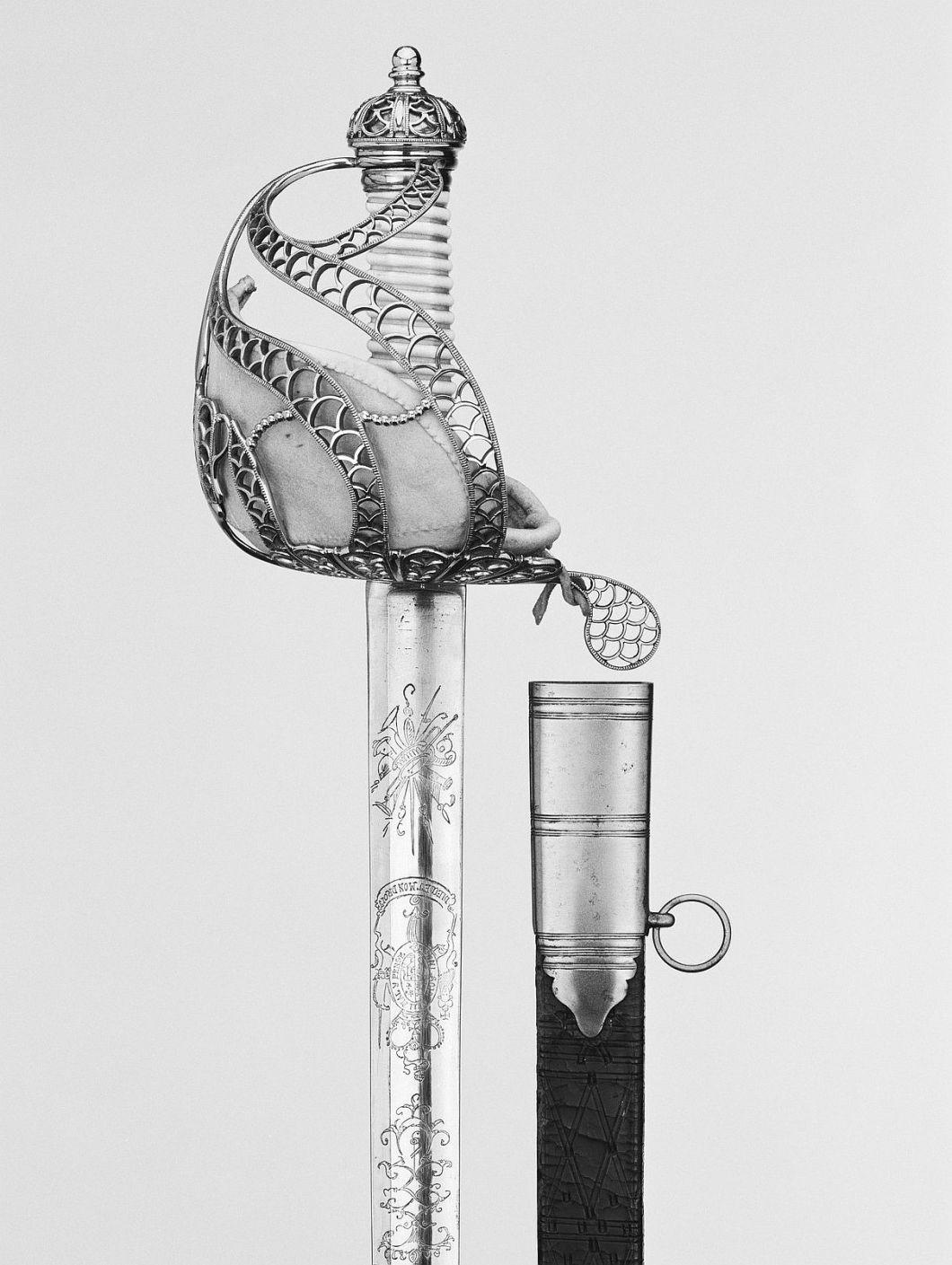 Başka bir ingiliz süvari kılıcı