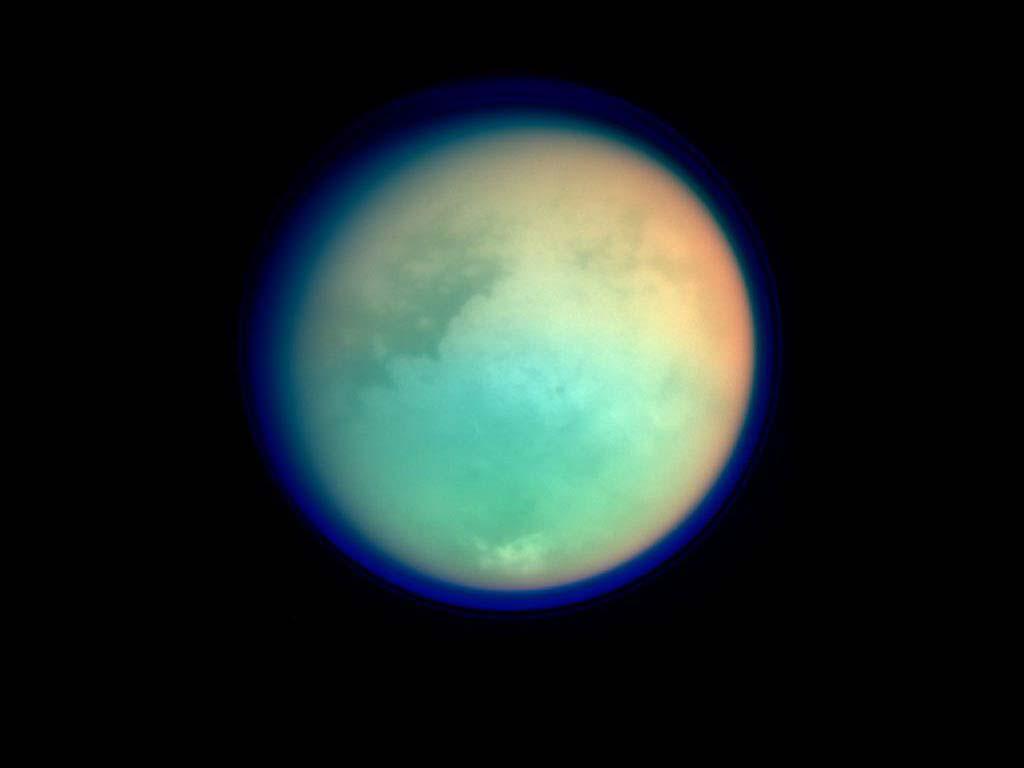 Satürnün uydusu Titan