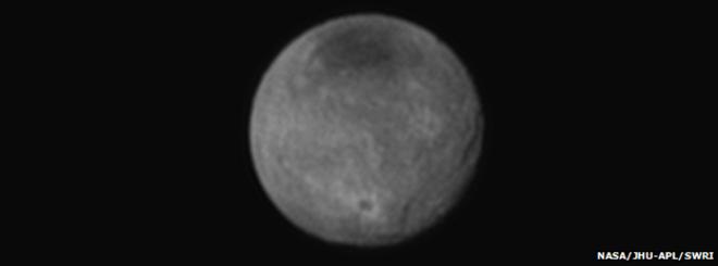 Plütonun uydusu Şaron