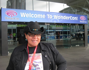 Arigon at WonderCon in San Francisco