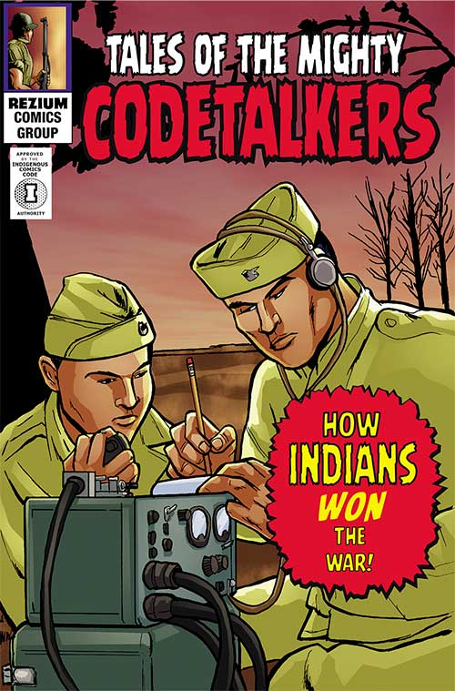 Tales of the MIghty Code Talkers Cover