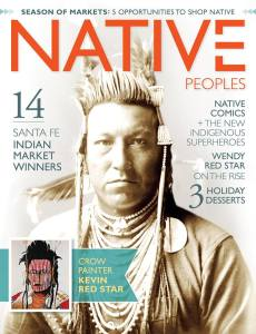 Cover of Native Peoples Magazine