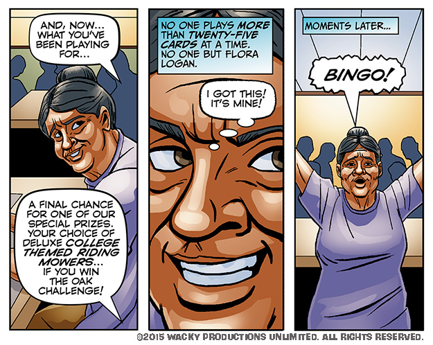 Bingo Fever #7 Page 6A