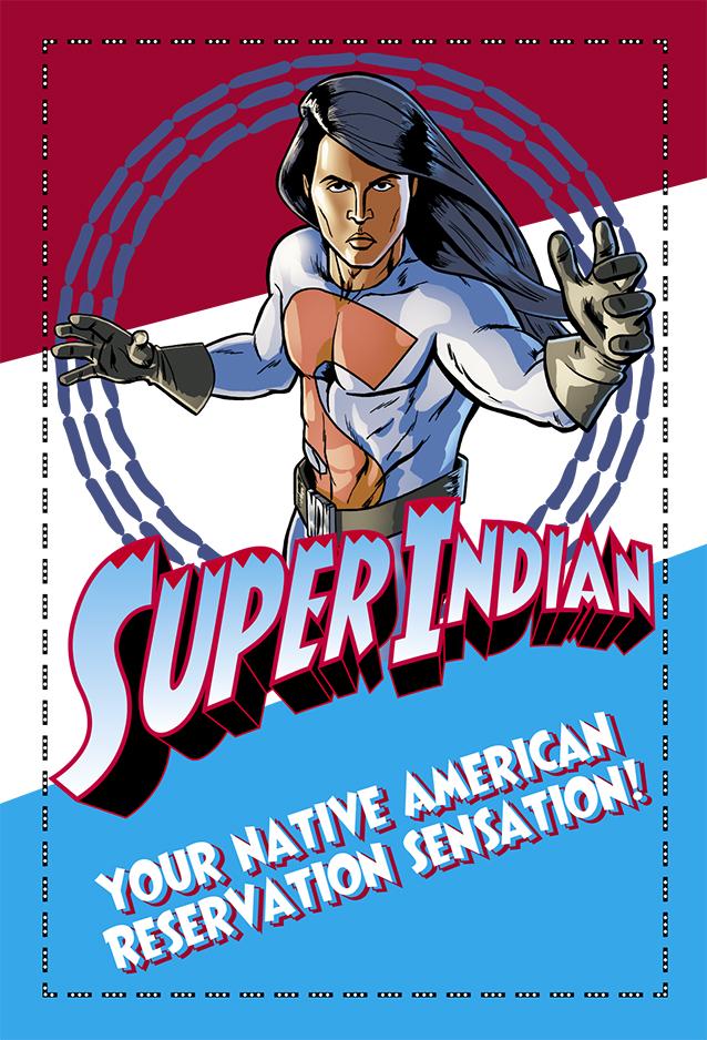 Super Indian Postcard 2016