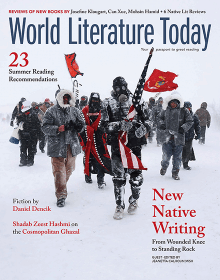 World Lit Today May 2017 Cover