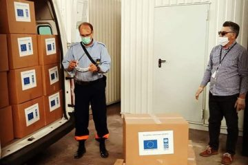 UNDP isporučio 1.600 vizir maski za zdravstvene ustanove u ZDK