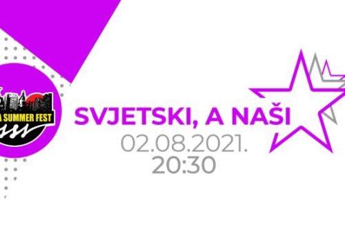 """Koncertom """"Svjetski, a naši"""" večeras počinje Zenica Summer Fest 2021."""