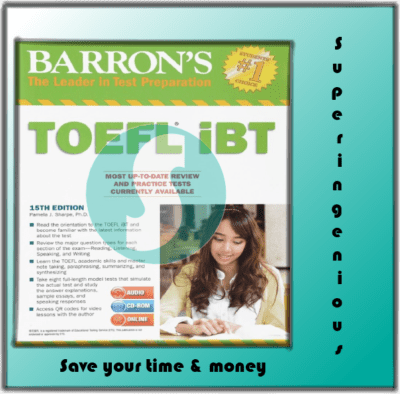 Barrons Toefl Ibt Suite The 15th Editionpdfaudio