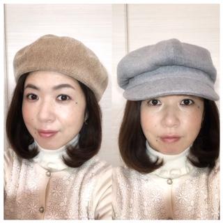 顔タイプ診断 似合う帽子