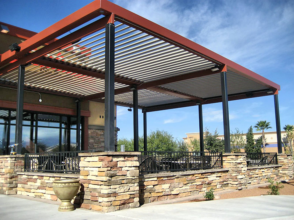 restaurant awnings and covers