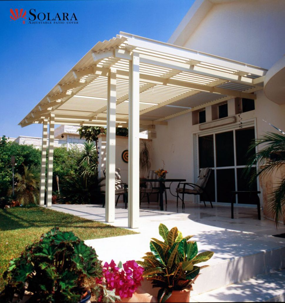 adjustable louver patio covers