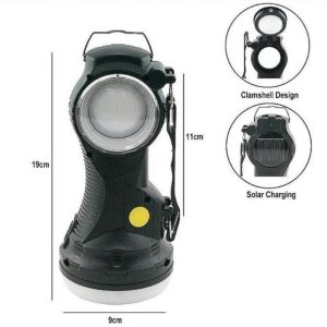 rechargeable/ solar torch