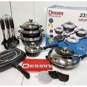 23pcs destinies cookware set