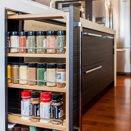 pull out spice rack base superior