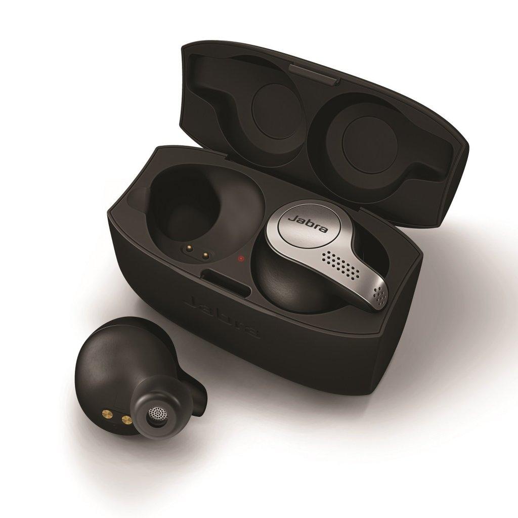 Jabra Elite 65t True Wireless Headphones Charging Carrying Case   Superior Digital News