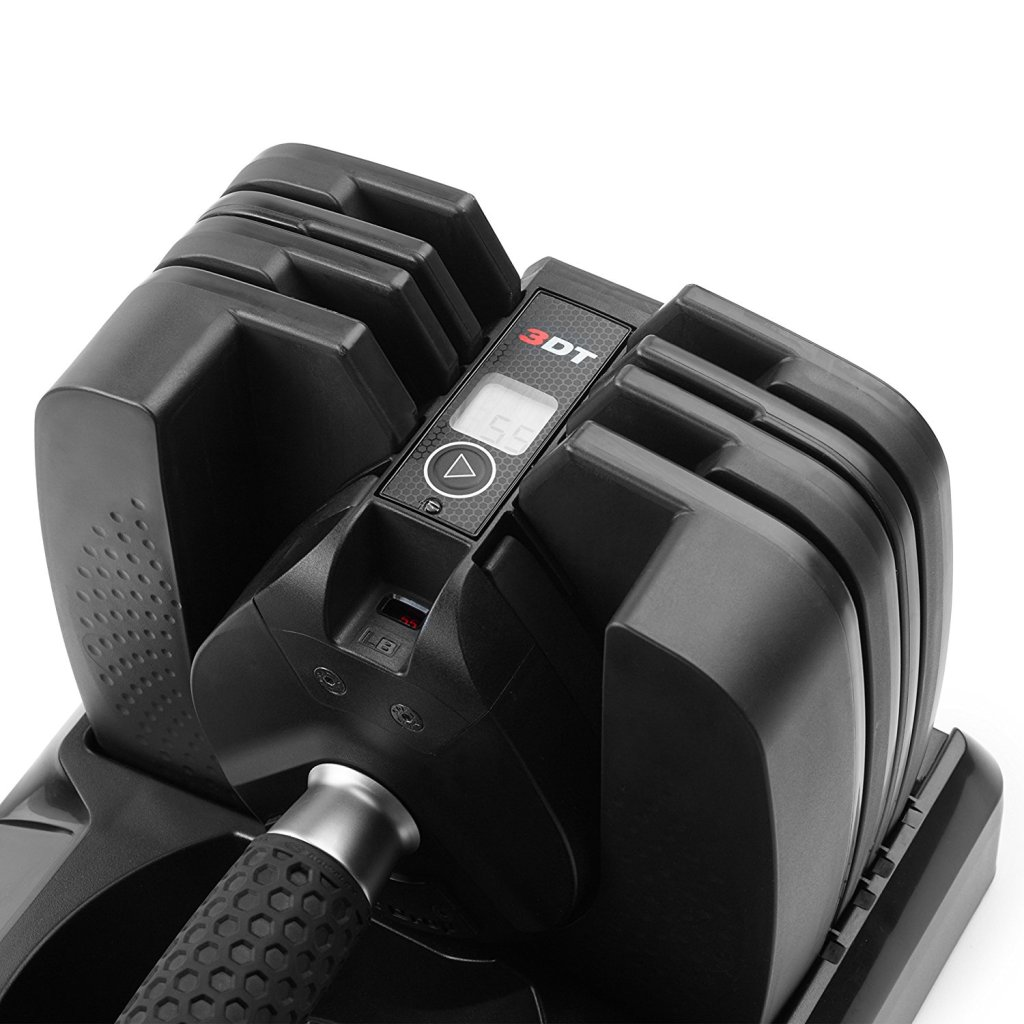 Superior Digital News - Bowflex Select Tech 560 Smart Dumbbell (Pair) - Built-in Motion Sensor and LCD Display