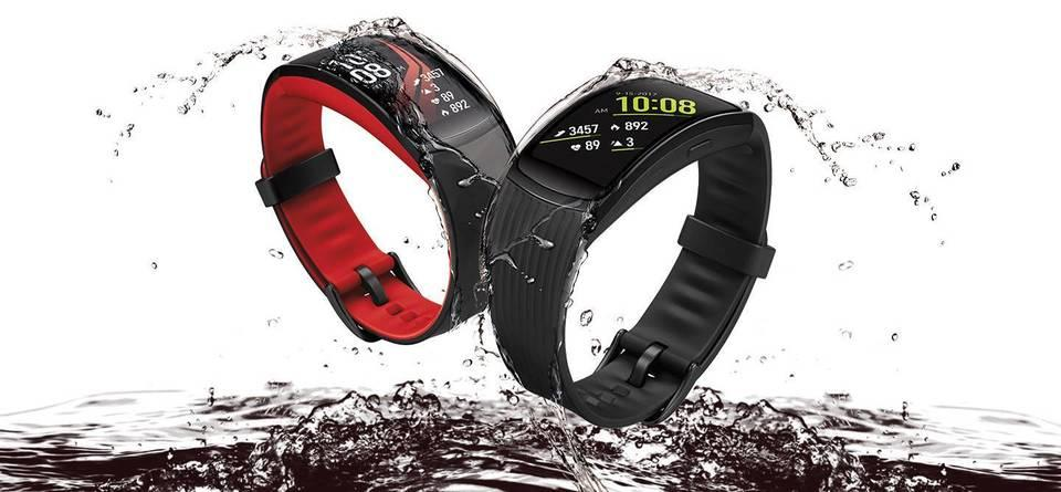 Best Hybrid Fitness Smartwatch: Samsung Gear Fit 2 Pro