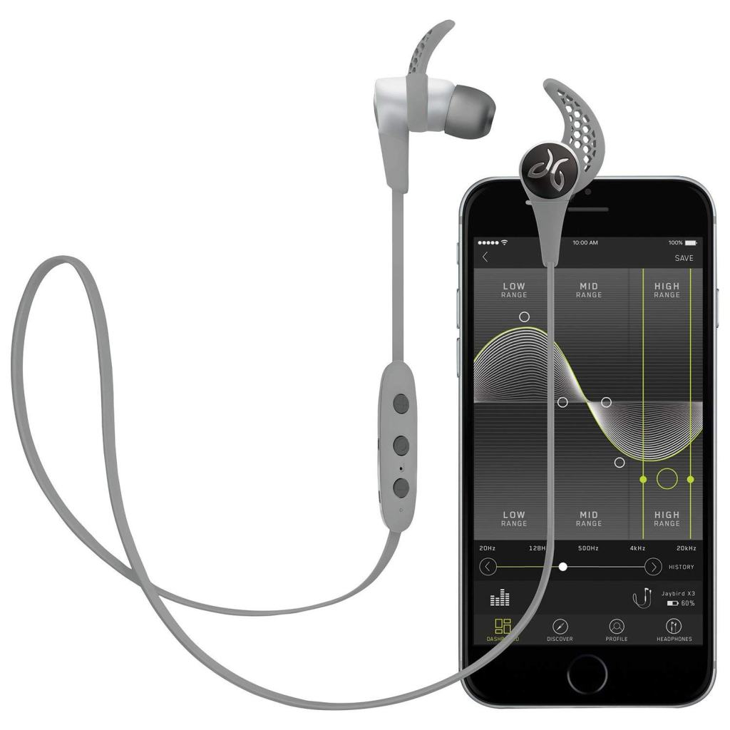 JAYBIRD X3 Platinum White & MySound App | Superior Digital News