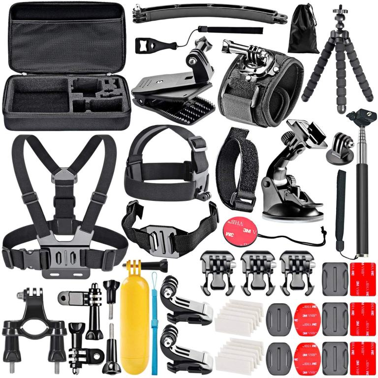 Superior Digital News - Neewer 50-In-1 Action Camera Accessory Kit for GoPro Hero Session_5 Hero 1 2 3 3+ 4 5 6 SJ4000 5000 6000 DBPOWER AKASO VicTsing APEMAN WiMiUS Rollei QUMOX