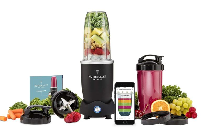 Superior Digital News - NutriBullet Balance Bluetooth Enabled Smart Blender All-In-One Kit