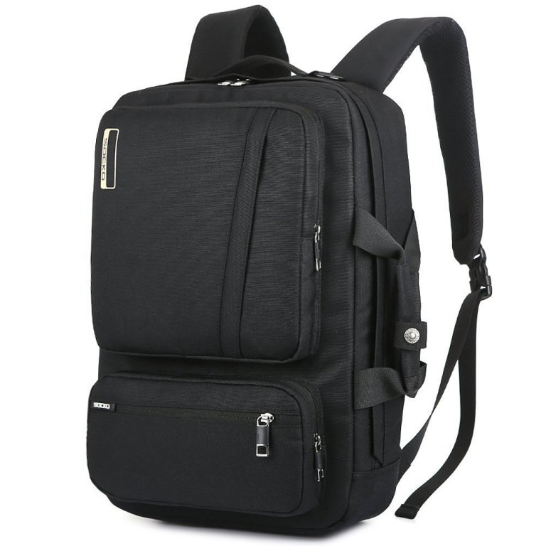 Superior Digital News - Socko 18.4 Inch Laptop Backpack with Side Handle and Shoulder Straps