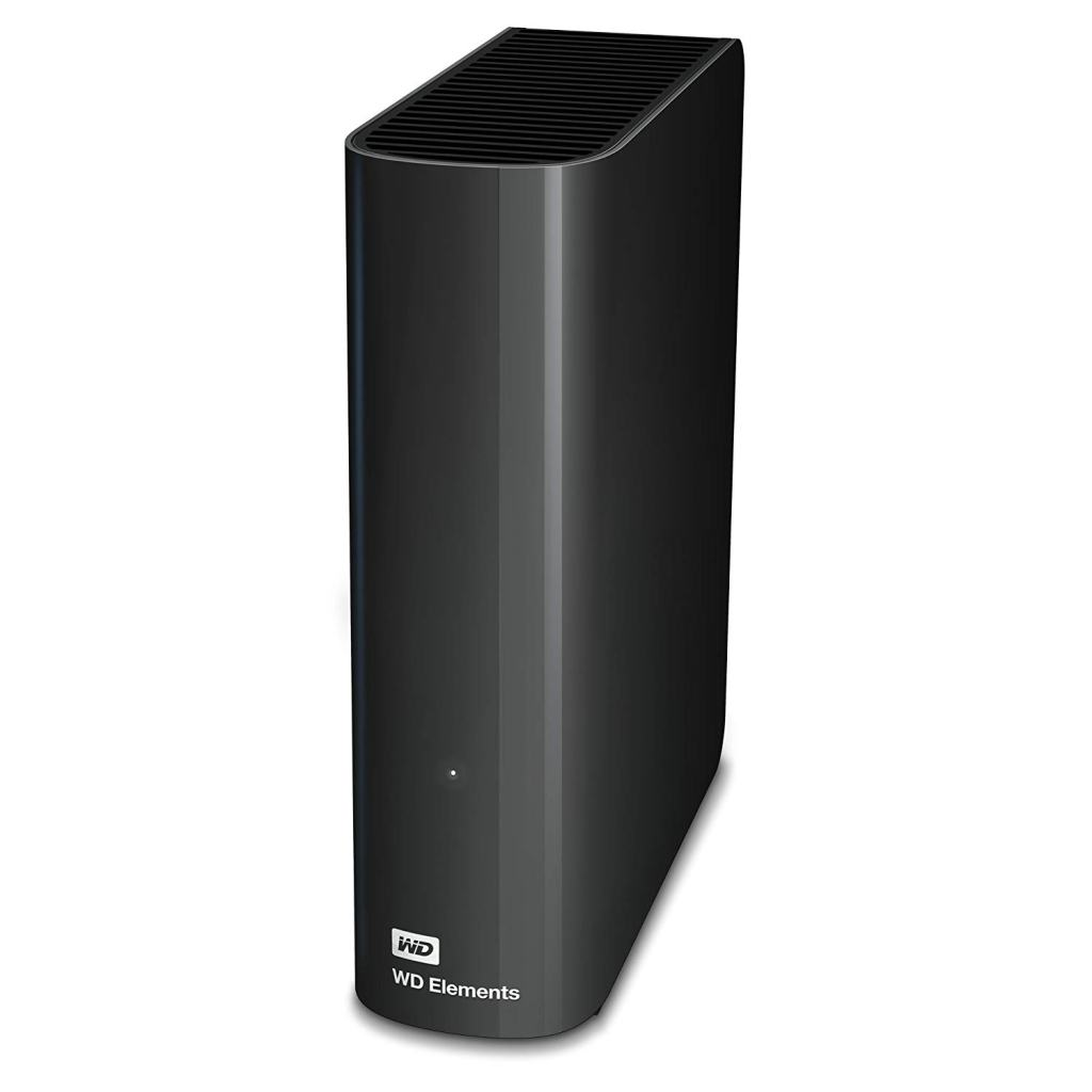 Superior Digital News - Western Digital 4TB Elements Desktop Hard Drive - USB 3.0 - Plug and Play - Front
