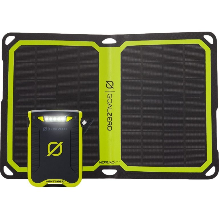 Superior Digital News - Goal Zero Venture 30 7800mAh Portable Power Bank & Nomad 7 Plus Solar Charger Kit