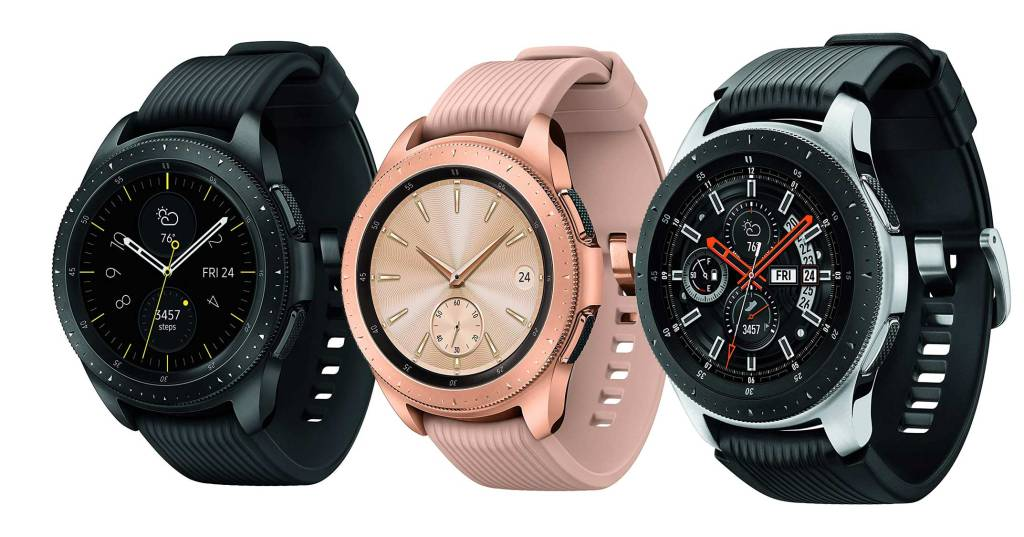 Superior Digital News - Samsung-Galaxy-Watch---Smartwatch---Midnight-Black,-Rose-Gold,-and-Sterling-Silver
