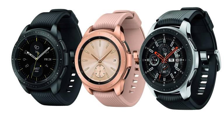 Superior Digital News - Samsung-Galaxy-Watch---Smartwatch---Midnight-Black,-Rose-Gold,-and-Sterling-Silver