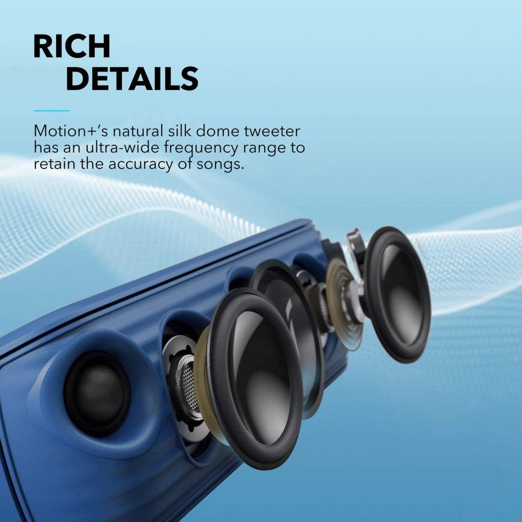 Anker Soundcore Motion+ Blue - Driver Setup