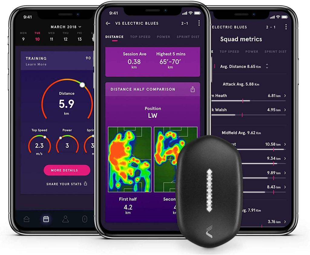 CATAPULT PLAYR Smart Soccer Tracker - PLAYR App