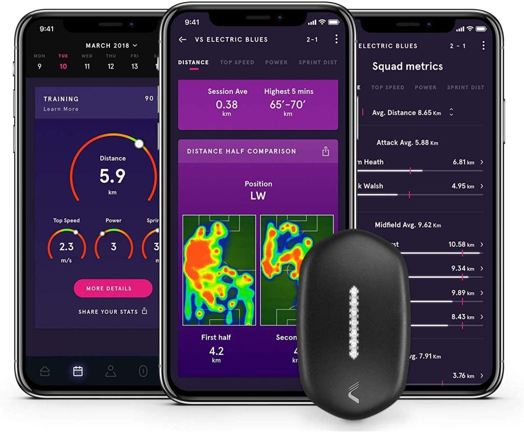 CATAPULT PLAYR Smart Soccer Tracker - PLAYR App