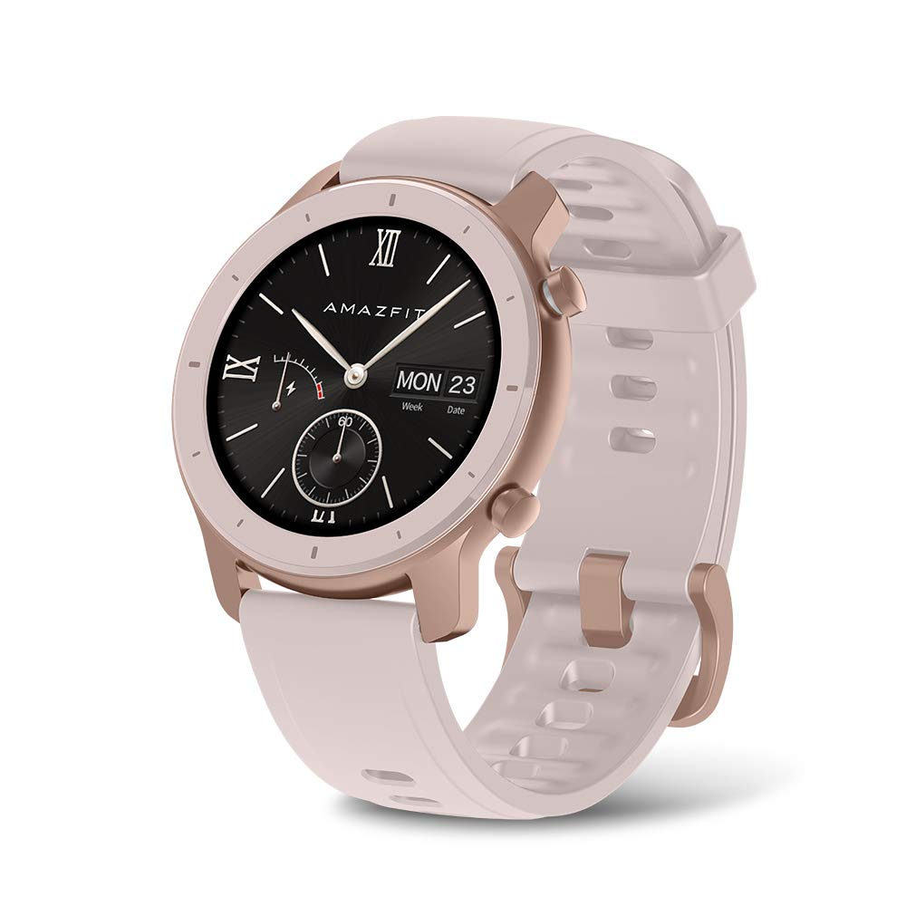 Amazfit GTR Smartwatch - 42mm Cherry Blossom Pink