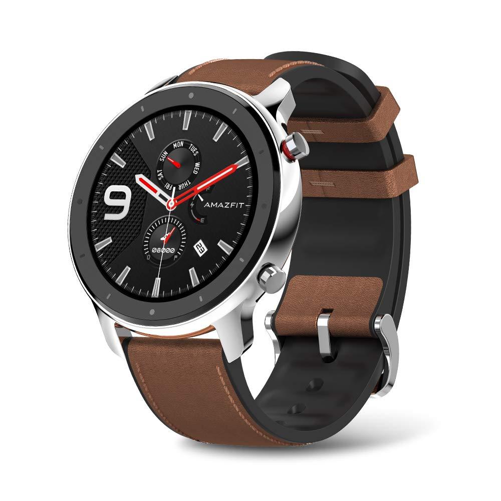 Amazfit GTR Smartwatch - 47mm Stainless Steel