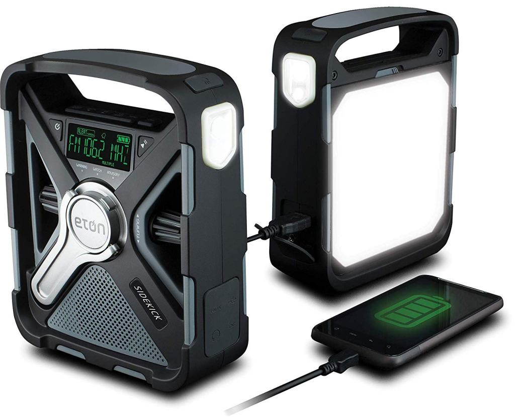 Eton Sidekick FRX5 Emergency Weather Radio with USB Output