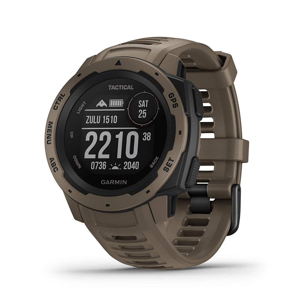 Garmin Instinct Outdoor GPS Watch - Tactical Edition