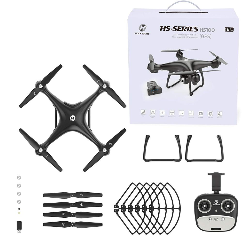 Holy Stone HS100 RC Drone & Accessories
